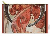 Dance Carry-all Pouch by Alphonse Maria Mucha
