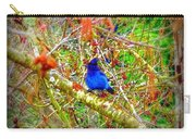 Dance Of Blue Jay Carry-all Pouch