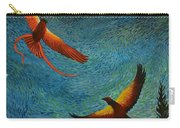 Dance Of The Firehawks Carry-all Pouch
