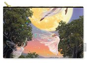 Dance Of The Moon Fairy Carry-all Pouch by Garry Walton