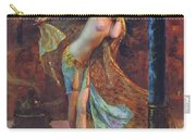 Dance Of The Veils Carry-all Pouch by Gaston Bussiere