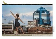 Dance The Durham Skyline Carry-all Pouch by Jh Photos