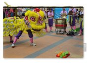 Dance Troupe Performs Chinese Lion Dance Singapore Carry-all Pouch
