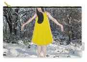 Dancer In The Snow Carry-all Pouch