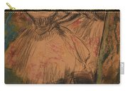 Dancer In The Wing Carry-all Pouch by Edgar Degas