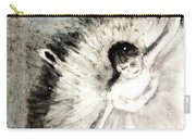 Dancer With A Bouquest Of Flowers By Edgard Degas Carry-all Pouch