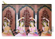 Dancers In Mughal Court Carry-all Pouch