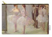 Dancers In The Wings At The Opera Carry-all Pouch by Jean Louis Forain