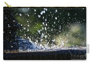 Dancing Droplets Carry-all Pouch