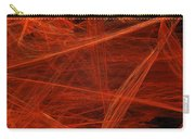 Dancing Flames 1 H - Panorama - Abstract - Fractal Art Carry-all Pouch