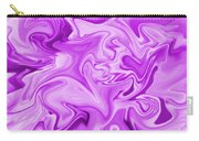 Dancing Flames-purple Carry-all Pouch