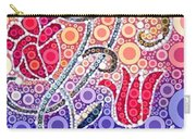 Dancing Flowers At Sunrise Carry-all Pouch