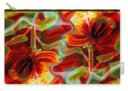 Dancing Flowers Carry-all Pouch by Omaste Witkowski
