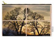 Dancing Forest Trees Picture Window Frame Photo Art View Carry-all Pouch