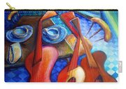 Dancing Guitars Carry-all Pouch