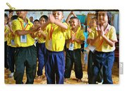 Dancing Kindergarten Students At Baan Konn Soong School In Sukhothai-thailand Carry-all Pouch