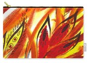 Dancing Lines Hot Abstract Carry-all Pouch