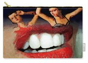 Dancing Lips Carry-all Pouch
