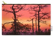 Dancing Trees Into The Fire Carry-all Pouch