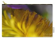 Dandelion Bloom Macro Carry-all Pouch