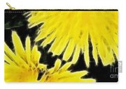 Dandelion Expressive Brushstrokes Carry-all Pouch