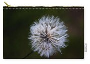 Dandelion In Green Carry-all Pouch