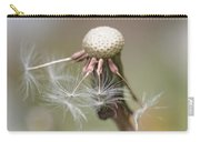 Dandelion Last To Fly Away Carry-all Pouch