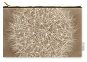 Dandelion Marco Abstract Brown Carry-all Pouch