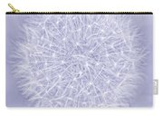 Dandelion Marco Abstract Lavender Carry-all Pouch