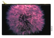 Dandelion Red Carry-all Pouch