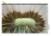 Dandelion Seed Macro Carry-all Pouch