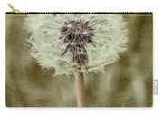 Dandelion Textures Carry-all Pouch