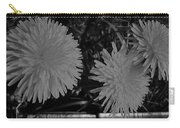 Dandelion Weeds? B/w Carry-all Pouch