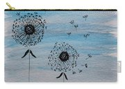 Dandelion Wind Carry-all Pouch