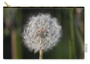 Dandelion With Abstract Grasses Carry-all Pouch