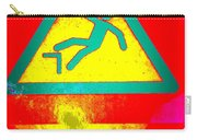 Danger Of Falling Carry-all Pouch