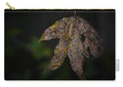 Dangling Dark Sweetgum Carry-all Pouch