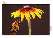 Dangling Monarch Carry-all Pouch by Jean Noren