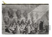 Daniel Interpreting The Writing On The Wall Carry-all Pouch by Gustave Dore