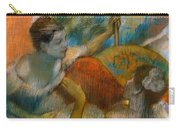 Danseuse A L'eventail Carry-all Pouch by Edgar Degas