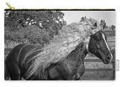 Dante In Black And White Carry-all Pouch