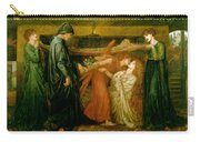 Dantes Dream At The Time Of The Death Of Beatrice 1856 Carry-all Pouch