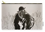 Dapper Carry-all Pouch by Beverley Harper Tinsley