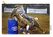 Dappled Barrelracer Carry-all Pouch