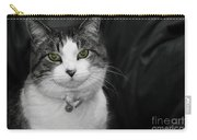 Dare To Look Into My Green Eyes Carry-all Pouch