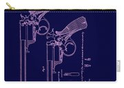 Dark Beaumont Revolver Patent Carry-all Pouch
