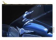 Dark Blue Classic Buick Flying Lady Hood Ornament Carry-all Pouch