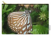 Dark Blue Tiger Butterfly Carry-all Pouch