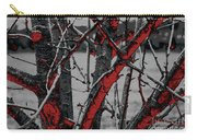 Dark Branches Carry-all Pouch