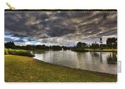 Dark Clouds Over Lake Carry-all Pouch